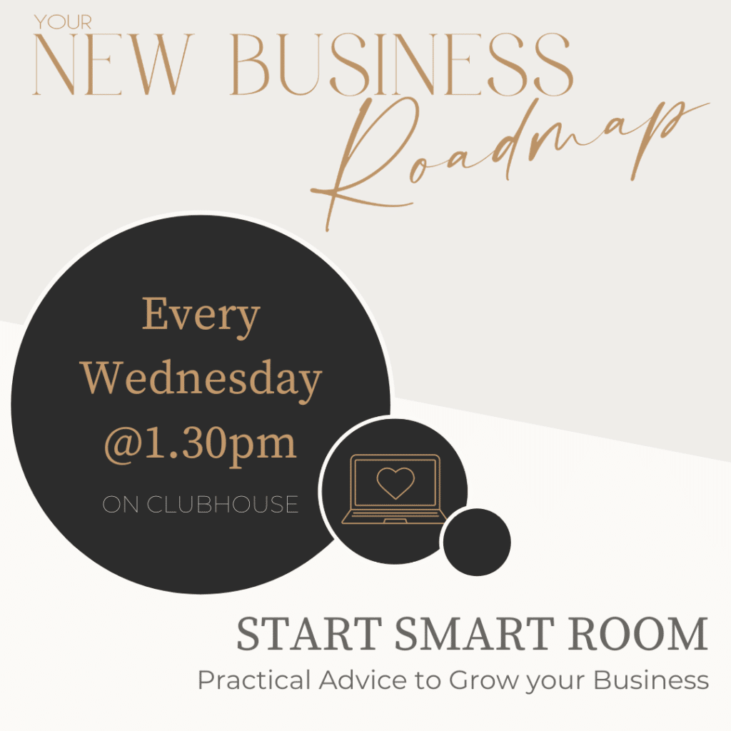 New business owners Clubhouse room every Wednesday 1.30pm
