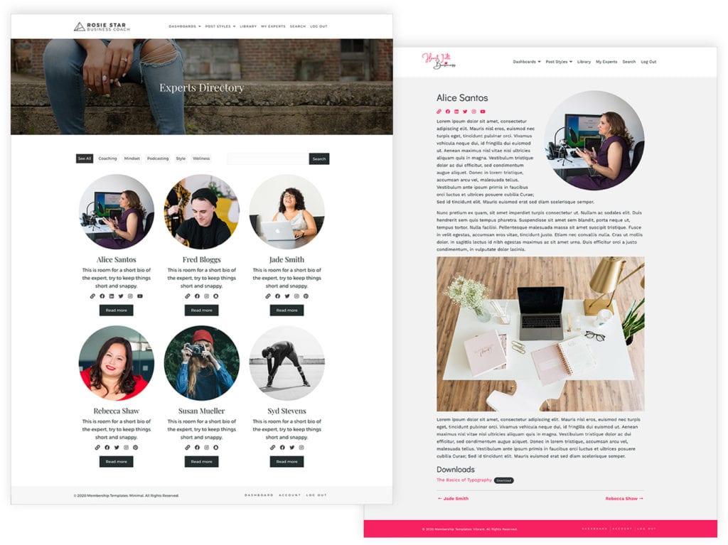 images of membership sites