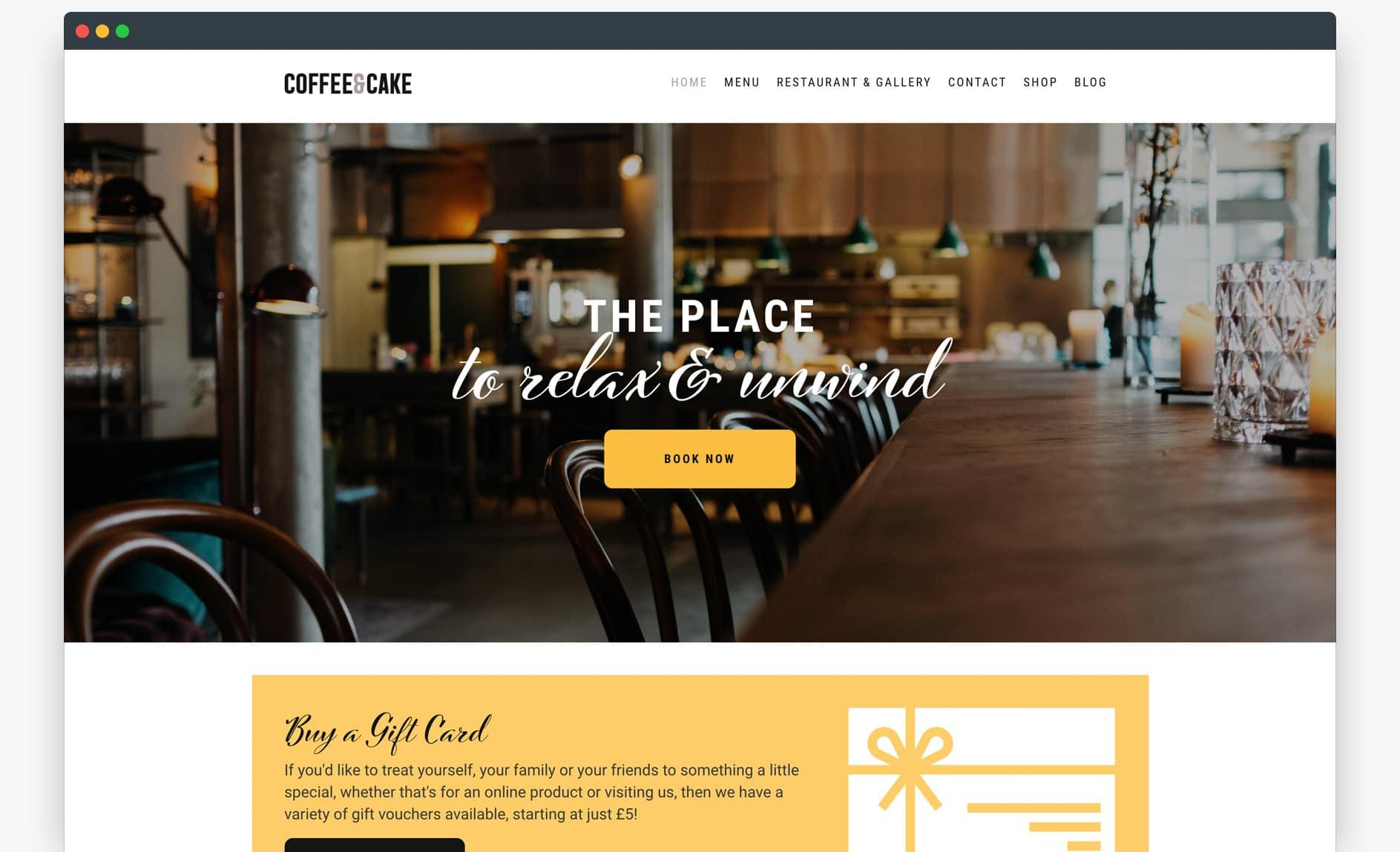 Website Template - Foodie