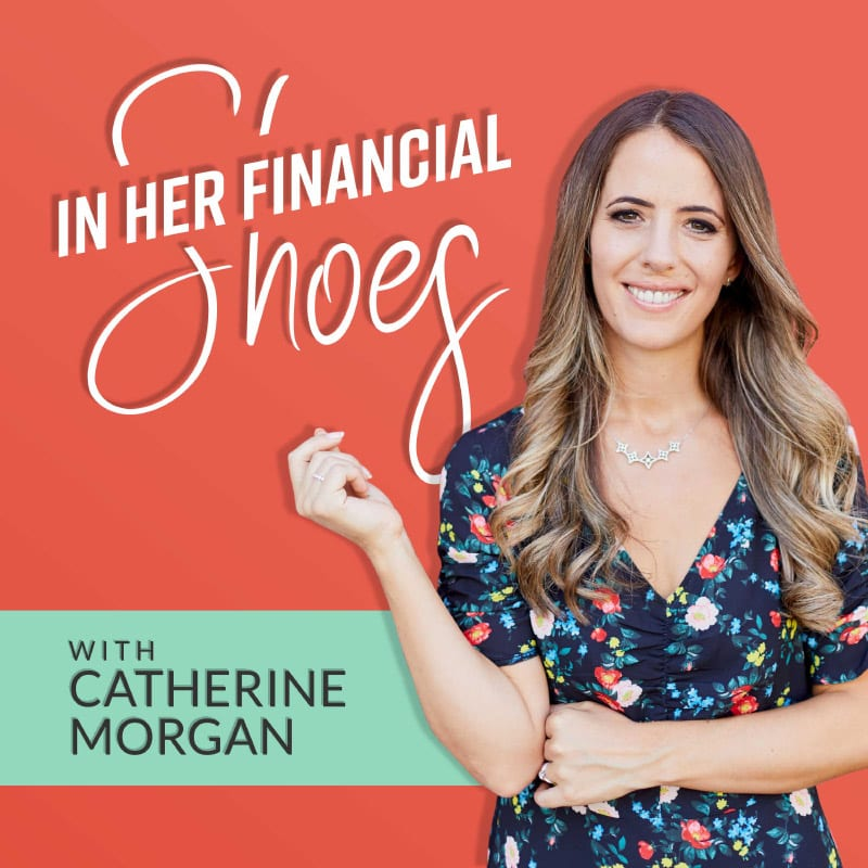 In her financial shoes podcast cover artwork