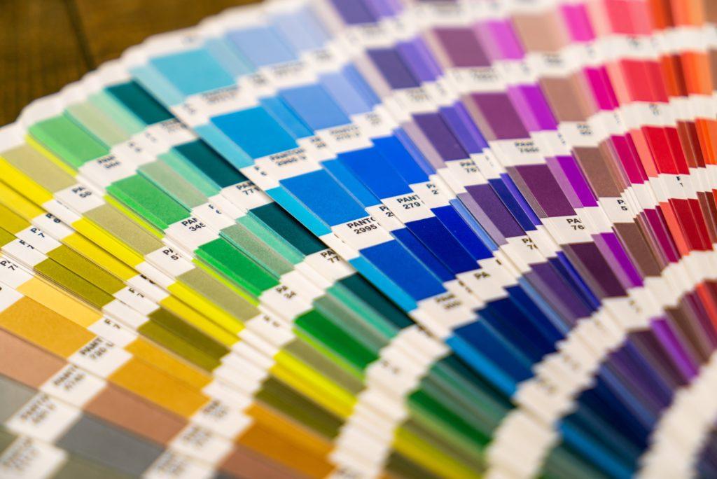 Pantone Brand Colours